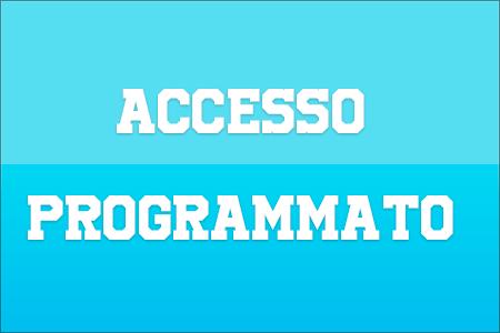 accesso programmato